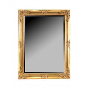 Grand miroir baroque encadrement dor e hauteur 80 cm for Grand miroir long