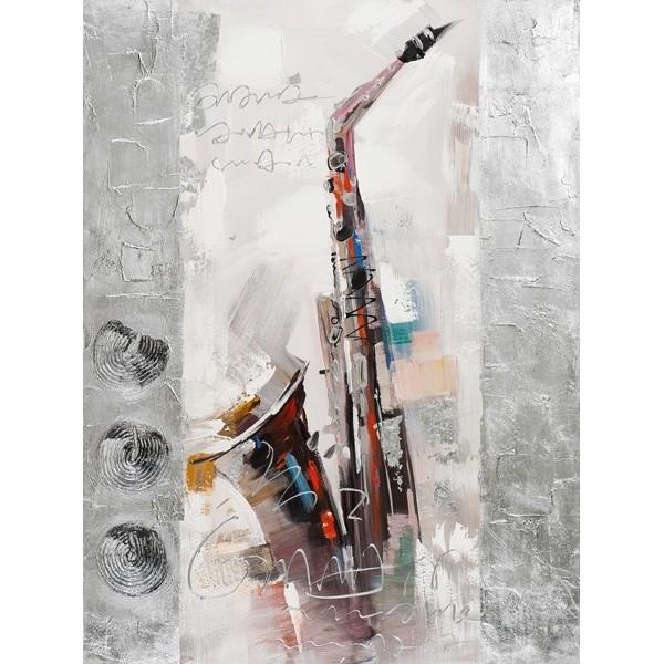 Tableaux contemporains sonate pour saxophone - Toiles contemporaines design ...