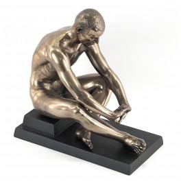 Statuette homme : Relaxation, hauteur 15 cm