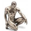Statuette homme : Stand by, hauteur 15 cm