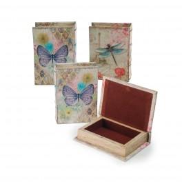 Boite Livre : Modèle Papillon (1 unité), L 14 cm