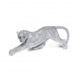 Panthère, Collection Perles de strass, L 41 cm