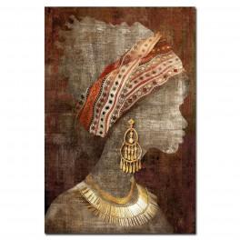Tableau Africaine 7, TRIBUTE TO SAVANNAH, H 90 cm