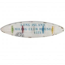 Porte-manteau Planche de Surf, Modèle Long Island, L 102 cm