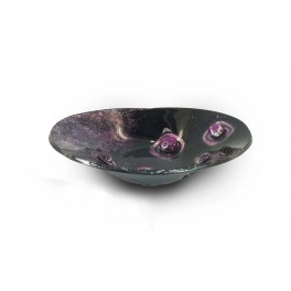 Coupelle ronde 2, Collection PURPURA, L 14,5 cm
