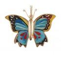Petit papillon à suspendre, H 8 cm mod 1