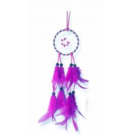 Attrape-rêves colorés, Violet H 32 cm