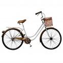 Déco murale métal : le vélo rétro XL, longueur 97 cm