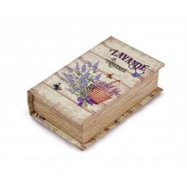Boite Livre : Boite livre Thème Lavande, mod 4, H 17 cm