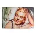 Plaque métal : Marilyn Monroe 20x30 cm
