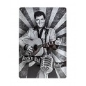 Plaque métal 20x30 cm : Elvis Presley