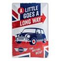 Plaque 3D métal 20x30 cm Mini : The British Beat