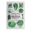Plaque métal 20x30 cm officielle : Locally growns Greens