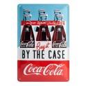 Plaque métal 20x30 cm officielle Coca Cola: Buy it by the case