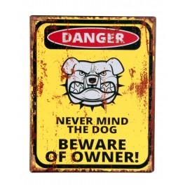 Plaque métal : Danger de tir, H 25 cm
