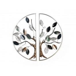 Decoration Murale Arbre De Vie Design Diametre 80 Cm