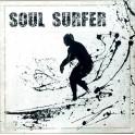 Déco murale : Plaque métal Soul Surfer, H 30 cm