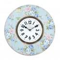 Horloge Florale Shabby Chic, Motifs Roses, Mod 1, Diam 34 cm