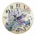 Grande Horloge Lavande, Parfums Naturels, Diam 58 cm