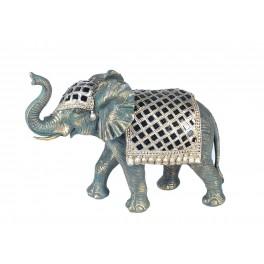 Statuette Eléphant XL, Taille 1, Mod Pendjab, L 35 cm