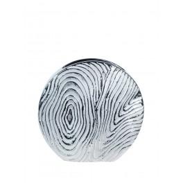 Vase Rond Céramique : Modèle Silver Agate (Grand), H 25 cm