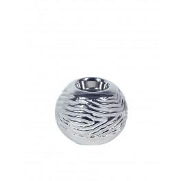 Bougeoir design céramique : Modèle Agate, Diam 10 cm