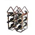 Porte-bouteilles 6 pièces, Modèle New York, H 39 cm