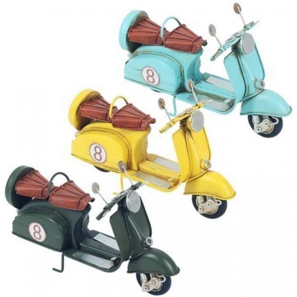 L30 cm modèle JAUNE pour collection ou décoration Scooter ou Vespa miniature