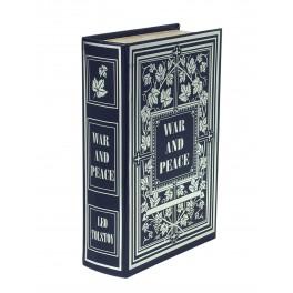 Boite Livre & Coffre, Modèle War & Peace, H 27 cm