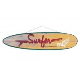Déco murale Surf XL : Modèle Surfer, L 80 cm