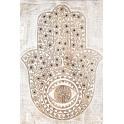 Tableau Africaine : Main de Fatima 2, H 61 cm