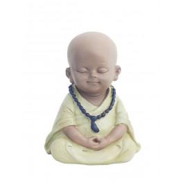 Figurine Moine, Collection Baby Zen, H 11 cm