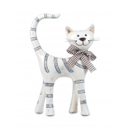 Figurine Chat Collection Mistigri debout, H 23 cm