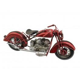 Moto miniature métal? Mod Rouge, L 27 cm
