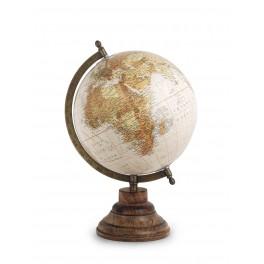 Globe terrestre déco, Petit Modèle La Pérouse, H 33 cm