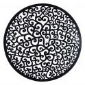 Décoration murale métal : Mandala en métal, Marron & Noir, H 80 cm