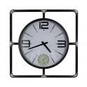 Grande Horloge Industrielle, Thermomètre et Hygromètre, Diam 57 cm