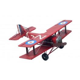 Avion Miniature en métal, Modèle Rouge, P 35 cm