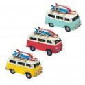 Set de 3 Vans Miniatures en Métal, L 11 cm