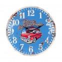 Horloge 100% Métal : Modèle Chevrolet Bel Air, Diam 40 cm
