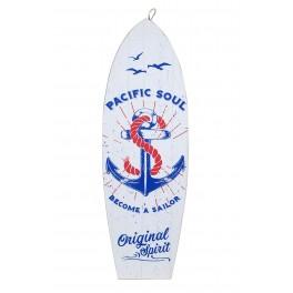 Planche de Surf déco : Mod Become a Sailor, H 60 cm