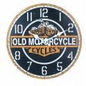 Horloge MDF Moto : Mod Old Motorcycles, Diam 34 cm