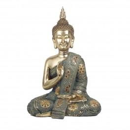 Statuette Bouddha XL : Modèle Chiang Mai, H 40 cm