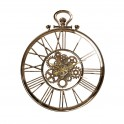 Horloge à Engrenages, Modèle Gousset Doré, Hauteur 91 cm