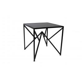 Bout de canapé, Modèle Noir. Collection Géom. D 45 cm