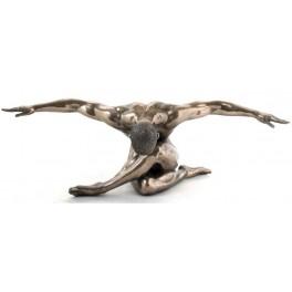 Statuette résine : Equilibre, longueur 44 cm