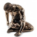 Statuette design homme : Reborn, H 16 cm