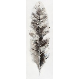 Silver feather M