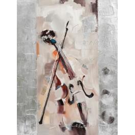Tableau design Musique : Sonate pour violon, H 120 cm