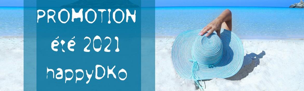 Coup de projecteur sur les promos d'été happyDko !